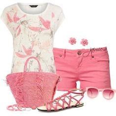 Pink Outfits Ideas For Ladies By Jaimie-a...