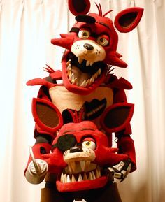 FNAF Foxy cosplay フォクシー&フォクシー costume Furry