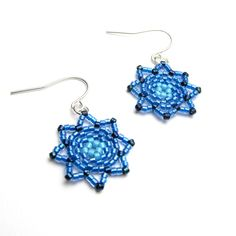tutorial - starburst earrings