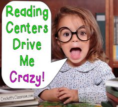 Make your Reading Groups/Centers easier to manage---Crockett's Classroom