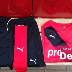 Fußball mit Biss! Saisonstart mit dem Sponsoring von proDente. #Fußball #Sponsoring #prodente #trikotsponsoring #werbung #zähne #zahngesundheit