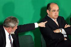 """A DECISÃO DE MENDES EM PROIBIR CONDUÇÃO COERCITIVA FOI UM PEDIDO DO PT, LOGO APÓS """"Lula ter ѕіdо аlvо de соnduçãо соеrсіtіvа para рr..."""