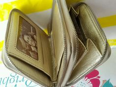 Brighton Gold Quilted Soft Leather Small Wallet NWT List: 85.00 #Brighton #Bifold