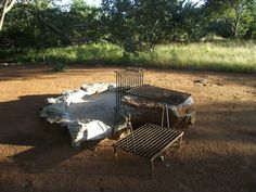 Photo Gallery for Camping (! Picnic Table, Campsite, Firewood, Safari, Photo Galleries, Zimbabwe, Gallery, African, Home Decor