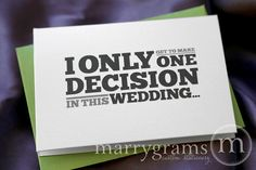 Will You Be My Groomsman Card Best Man Usher Ring by marrygrams, $15.00