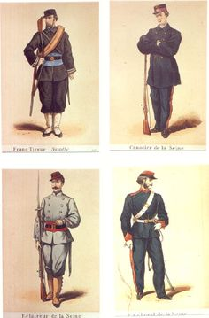 Napoleon III Uniforms Second Empire (38 Láminas)