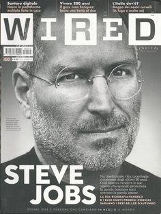 Wired magazine Steve Jobs Apple Juan Enriquez Plastic surgery Man and machine