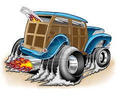 Hot Rod Flames Template   Hot Rod Woody by Britt8m
