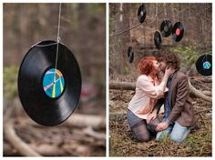 That's romantic...What better way than to surround yourself with beautiful music and nature.