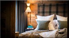szép hálószoba svájci lakások (Luxusházak, lakások)