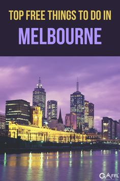 There's so much to do in Melbourne that it sorting it all outcan get overwhelming at times. Luckily, we did it for you. From the local busking music scene to the picturesque alleyways, there are many hidden gems that we encourage you to explore all over Melbourne. The best part is, they're all free. So grab your travel buddy, anddiscover Melbournetogether! You can also check out our guide on some of theTop Day Trips from Melbourne and How Much They Cost. Australia Travel Guide, Free Things To Do, Top Free, Day Trips, The Locals, Places To See, Melbourne, New York Skyline, Travel Tips