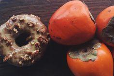 Hachiya Persimmon Doughnut… while our seasonal supply of beautiful persimmons last!