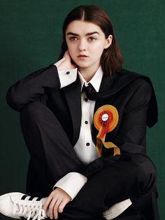Maisie Williams by Ben Toms for Dazed Magazine Spring:Summer 2015