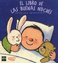 """Guido van Genechten. """"El libro de las buenas noches"""". Editorial SM (infantil-Groc)"""