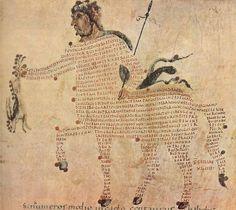 marsiouxpial:    Aretea-Der Kentauer,Karolingischer Buchmaler des 9. Jahrhunderts