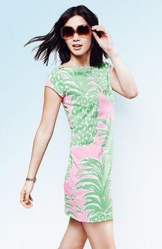 Lilly Pulitzer® 'Loren' Pima Cotton T-Shirt Dress   Nordstrom