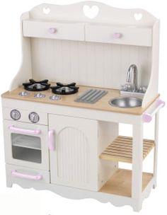 Waldorf Wooden Play Kitchen-Natural toy kitchen- Wooden Toys ...