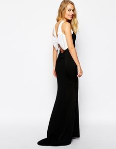 Coast+Sarah+Maxi+Dress+with+Bow+Back