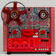 Limited Edition Celtic Cross United Home Audio HQ Tape Deck, heavily modified and upgraded Tascam reel to reel deck.