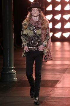 Saint Laurent Spring 2015 Menswear Fashion Show ♪