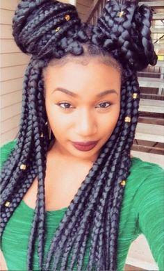 Jumbo Box Braids Styles, Blonde Box Braids, Short Box Braids, Braid Styles, Long Braids, Jumbo Braids, Box Braids Hairstyles, Try On Hairstyles, African Hairstyles