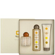 Orla Kiely body care collection for a friend.