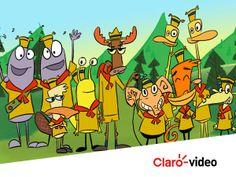 El campamento de animales más divertido: Lazlo, un mono araña, y sus amigos pasan por diversas aventuras  #ClarovideoKids