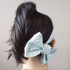 Beautiful and simple Double-Sided Headband, with Camelot Fabrics' Mint Condition Collection!