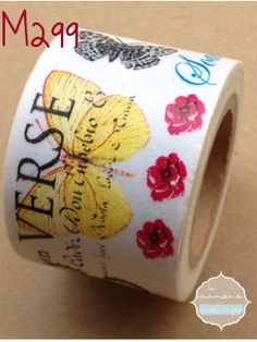 Washi Tape Mariposas 3