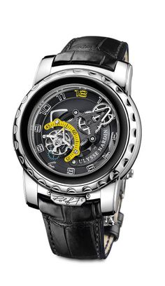 Ulysse Nardin is known for creating complicated masterpieces. Their latest accomplishment is dubbed the Freak Diavolo
