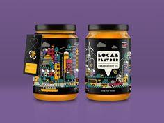 Local Flavour Jars  by Chloe Jackson #Design Popular #Dribbble #shots