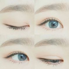Cute natural make up