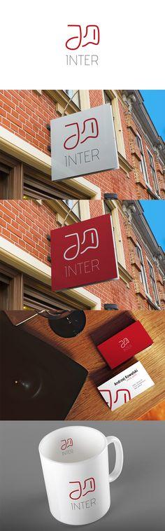 JD Inter Logotype on Behance #lumberpack #logo #logotype #logotyp #id #identification #brand #branding #design #graphic #showcase