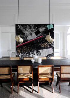 """Girafe"" The Luxury Restaurant by Top Architect Joseph Dirand Interior, Beautiful Interiors, Luxury Dining Room, Home Decor, Luxury Dining, Dining Room Decor, Dining Room Inspiration, Dark Dining Room, Interior Design"