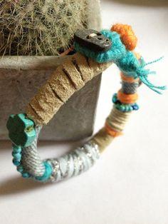 Gigri Bracelet Turquoise Cross by LouizCez on Etsy, €35.00