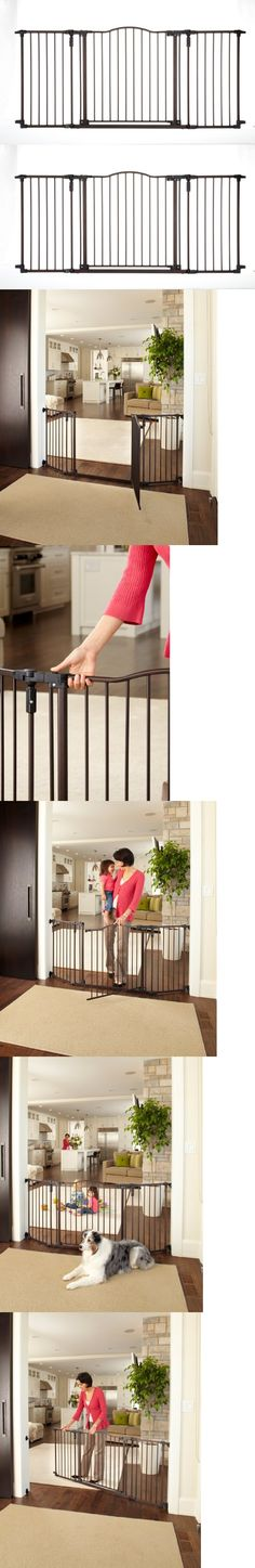 29-inch Tall Safety Gate For Soft And Antislippery Gray Storkcraft Easy Walk-thru Metal Safety Gate