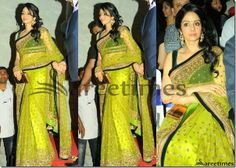 Sridevi_Green_Manish_Malhotra_Saree