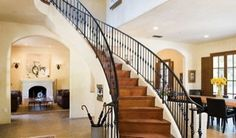 For my someday home... I have always loved bridal staircases