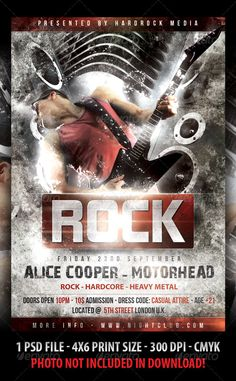 rock-heavy metal-hard core-party-concert-flyer-template.jpg (590×954)
