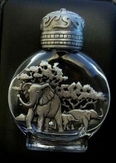 Elephant perfume bottle