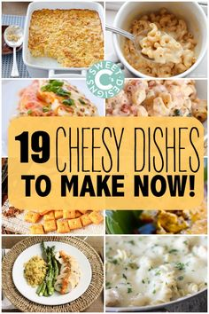 19 deliciously cheesy dishes to make now!