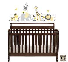 Safari Wall Decal Nursery Wall Decal Mini Decal Giraffe