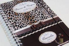 caderno de tecido oncinha elo7 - Pesquisa Google