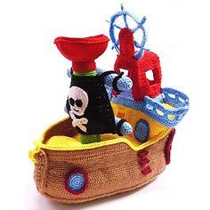 Patrón Barco Pirata