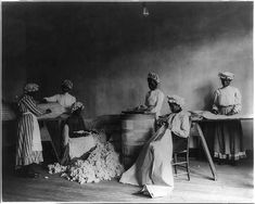 African American students in mattress-making class, Tuskegee Institute, Tuskegee, Ala