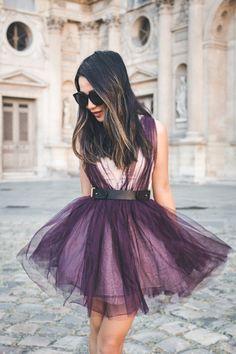 Flowers in Paris :: Tulle dress
