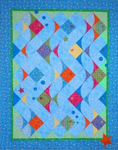 Rush Hour Traffic Beach Style Quilt Pattern - at The Virginia Quilter