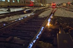 Setting the Tracks on Fire Keeps Cold Trains Running on Time