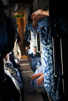 Third Class Feet - Trans-Siberian Railway by Frank Ward, via Flickr