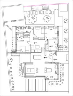 House Front, Kitchen Interior, House Plans, Sweet Home, Floor Plans, Layout, How To Plan, Studios, Houses